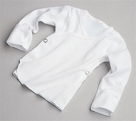 snap side infant shirts by medline