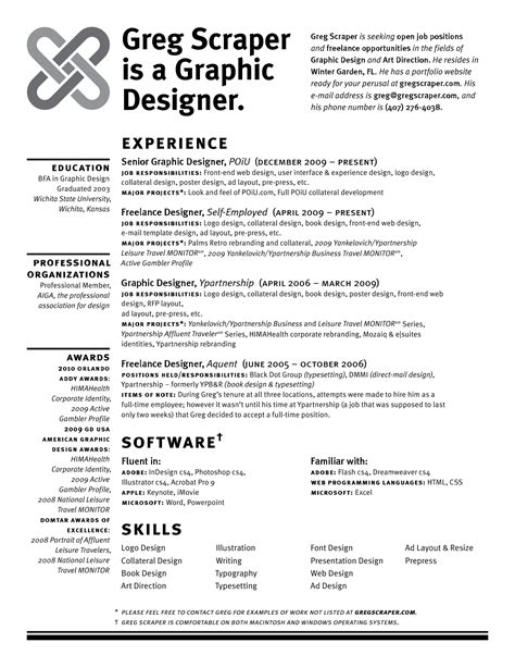 Sle Cv For Graphic Designer | 28 graphic designer sle resume information design