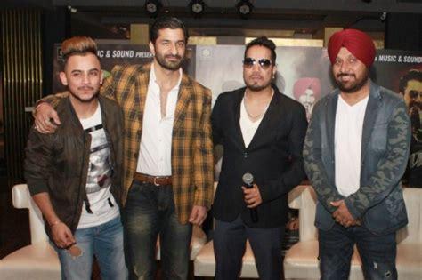 film mika cast mika singh at punjabi movie sardar saab promotion photos