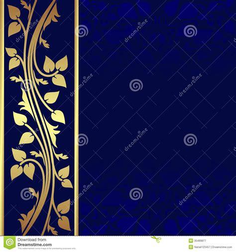 navy blue background with golden royal borders stock image and navy blue and gold background www pixshark com images