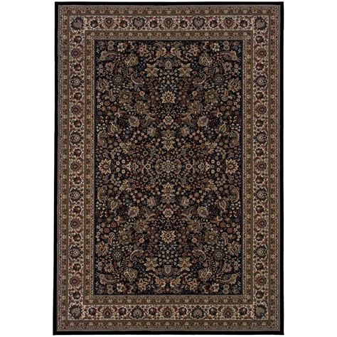 7 X 12 Area Rugs Home Decorators Collection Westminster Black 10 Ft X 12 Ft 7 In Area Rug 0387550210 The