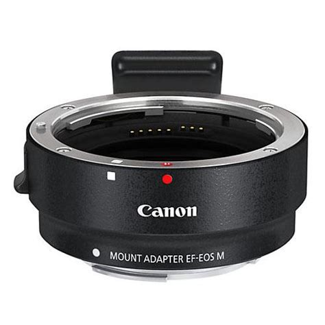 Lens Converter Adapter Canon Eos M canon ef eos m mount adapter jessops lens attachments