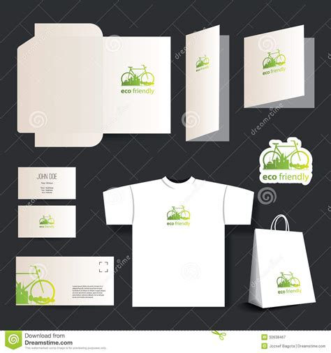 t shirt business card template stationery template design business set stock vector