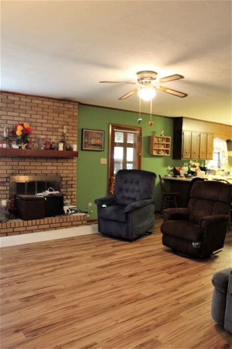 armstrong vivero lvt flooring traditional living room