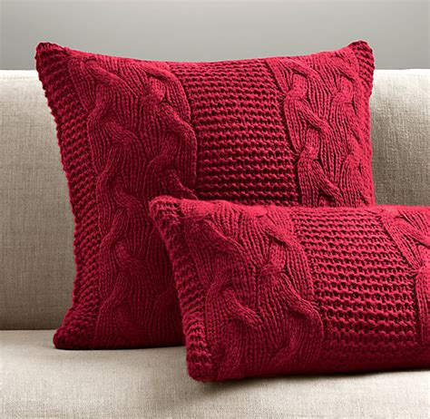 easy knit cushion cover pattern knitting pillow patterns for beginners italian wool