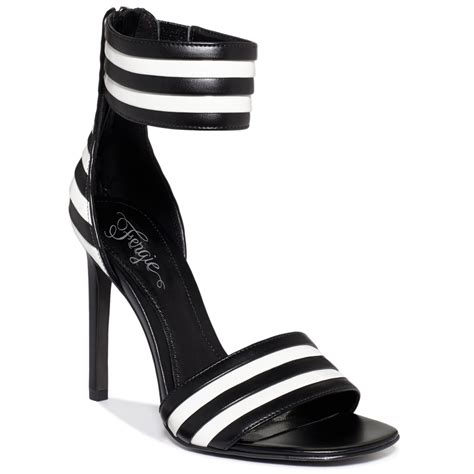 fergie torcha two dress sandals in black lyst