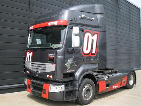 renault premium 460 renault premium 460 race truck tractor unit from germany