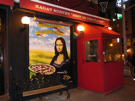 Narrow Dining Room Lombardi S Pizza In Little Italy America S First Is Still