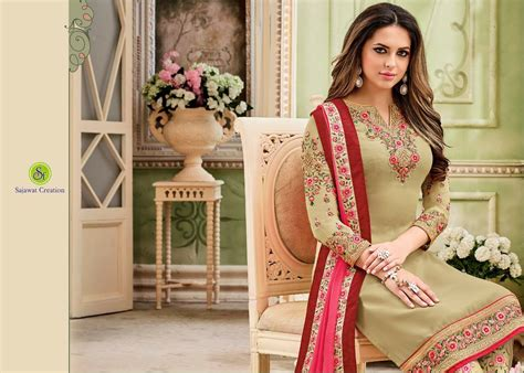 Dress Nayra 1 Sajawat Nayra Vol 2 Heavy Embroidery Salwar Suits At