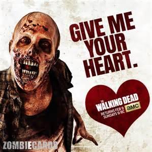 Walking Dead Valentine Meme - the walking dead valentines by haleyshearin on pinterest