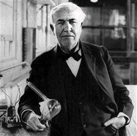 edison invented the light bulb and the rest is