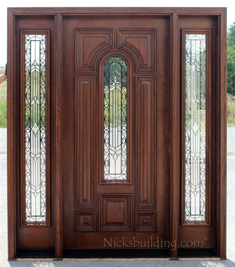 entry door with sidelights exterior doors with sidelights solid mahogany entry doors