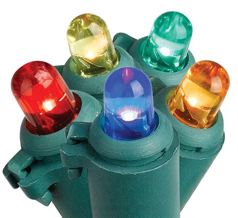 trim a home multicolor led dome lights kmart