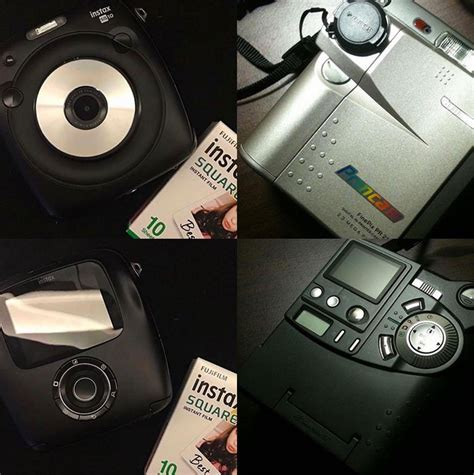 Fujifilm Instax Paper Square another picture of the fuji sq instax square format photo rumors