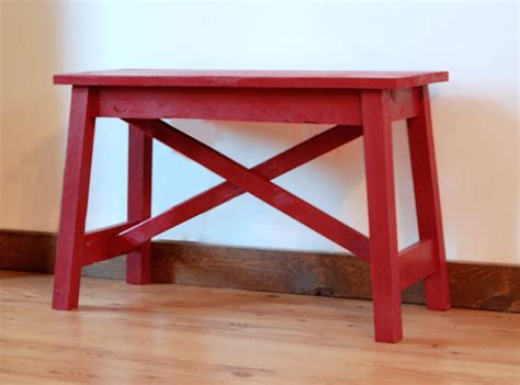 x bench diy ana white small easy rustic x bench diy projects