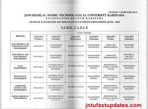 Jntu Mba Time Table 2017 by 4 2 Btech Mid Tt Mfawriting332 Web Fc2