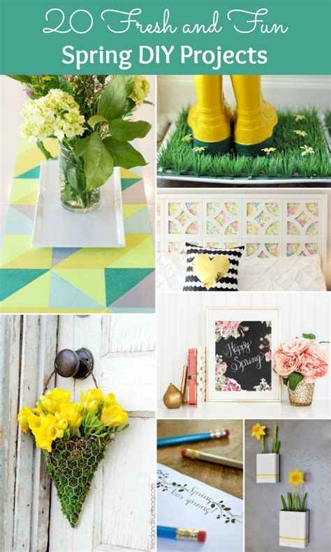 spring diy projects 20 fresh and fun spring diy projects
