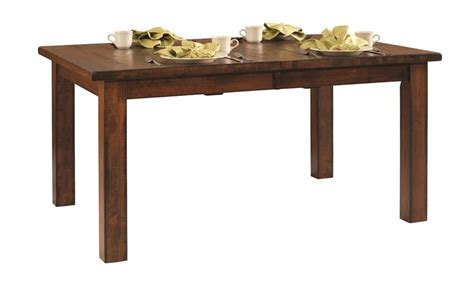 amish dining room table amish ancient mission dining room table