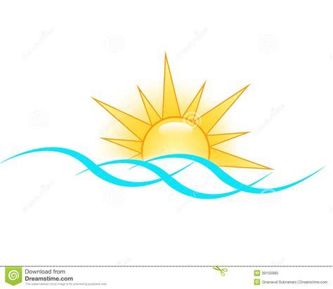 illustrator logo templates sun logo stock illustration image 39150985