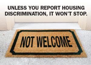 housing discrimination what to look for clues of possible discrimination intermountain fair housing council