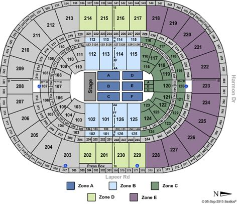palace of auburn hills floor plan cheap palace of auburn hills tickets