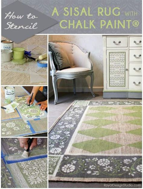 chalk paint jute rug designer rugs flower stencils and custom rugs on