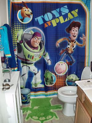 toy story shower curtain jeraine root s blog toy story bathroom
