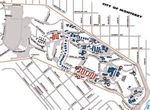 presidio map layout of the presidio of monterey pre 1940