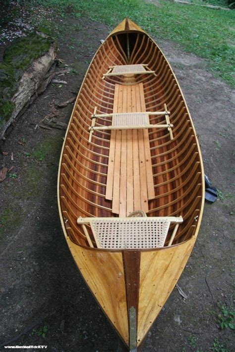 dream guide boat adirondack guide boat handmade from wooden boat plans