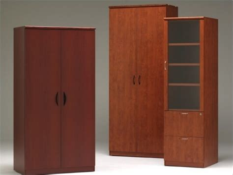 Tall Wood Storage Cabinet With Doors Home Furniture Design Storage Cabinets With Doors Wood