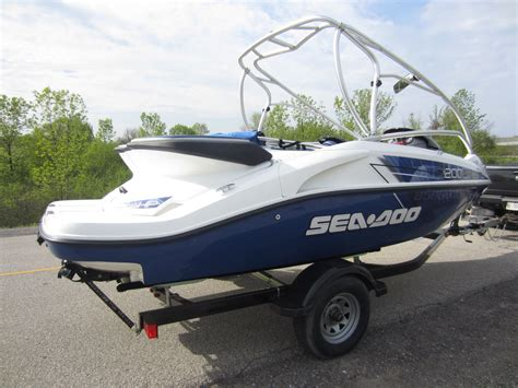 sea doo jet boat hp sea doo speedster 200 430 hp boat for sale from usa