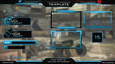 overlay templates for photoshop 16 twitch panel free psd images twitch overlay template