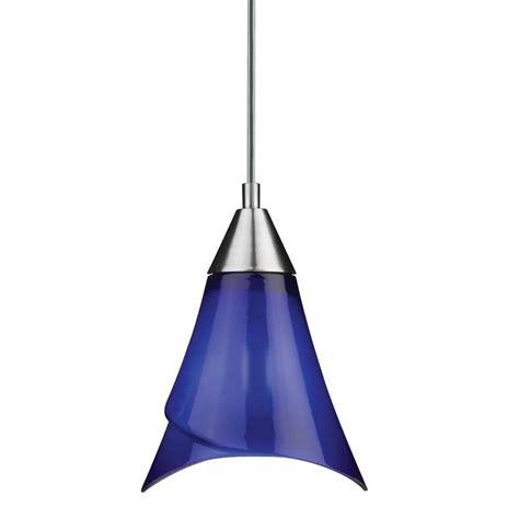 Cobalt Blue Light Fixtures Cobalt Blue Pendant Lights Thetastingroomnyc