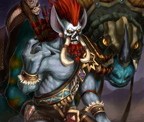 world of warcraft voljin voljin by hyperion1224 com on trolls by on and