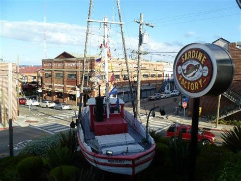 monterey boats factory fishing boat outside the sardine factory picture of