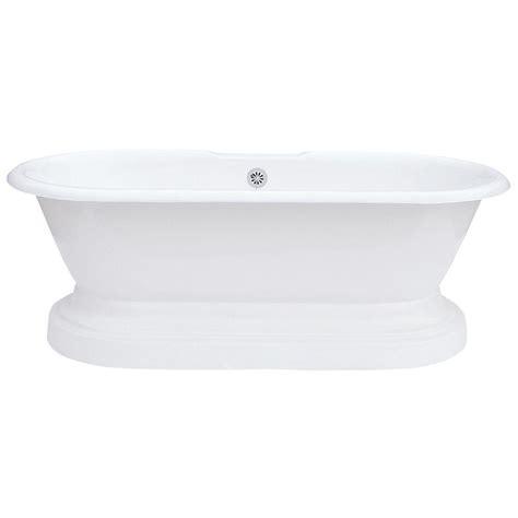 dual bathtub elizabethan classics cast iron dual tub