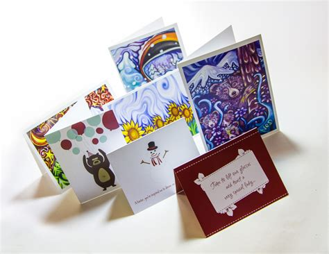 Greeting Card With Gift Card - vancouver greeting cards printing linxprint