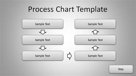 Free Simple Process Chart Template For Powerpoint Presentations Simple Flow Chart Template
