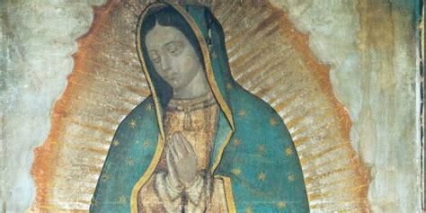 imagen de la virgen de guadalupe que esta en la basilica los misterios de la imagen de la virgen de guadalupe