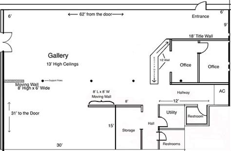 floor plan art visualize your art exhibition using the art gallery floor