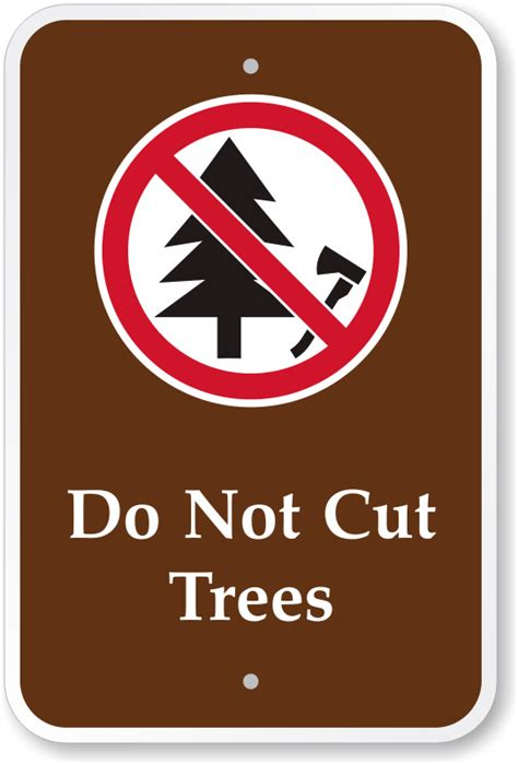 do not cut trees cground sign with graphic ships free - Do Not Cut The Tree To Get The Fruit