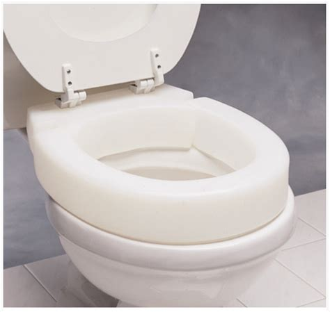 hinged elevated toilet seat buy   shipping