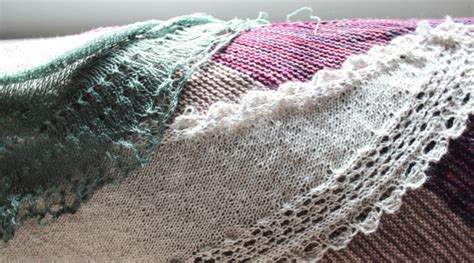 knitting today how to knit square shawls diagonally knitting today