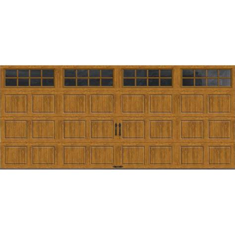 Clopay Gallery Collection 15 Ft 6 In X 7 Ft 6 5 R Value 7 Ft Garage Door