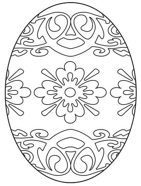 easter egg coloring sheet free easter egg coloring pages holidappy