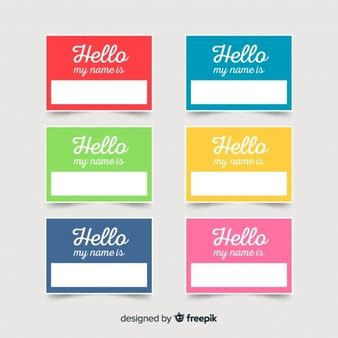 name tag template psd name tag vectors photos and psd files free