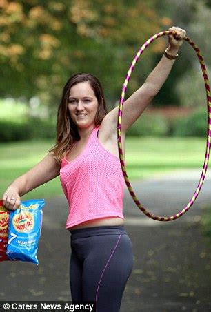 crisps addict ditches the hula hoops and picks up an