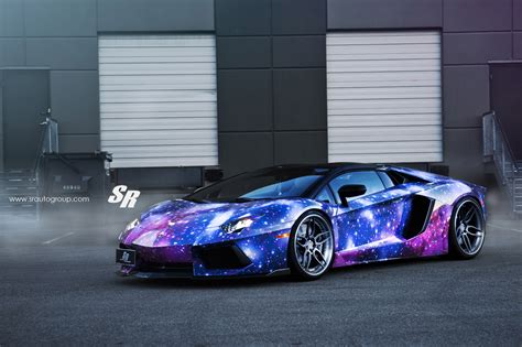 galaxy car sr auto dxsc lamborghini aventador galaxy modified