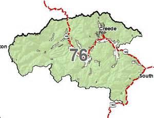 colorado elk unit map colorado elk gmu 76 stats and info diy