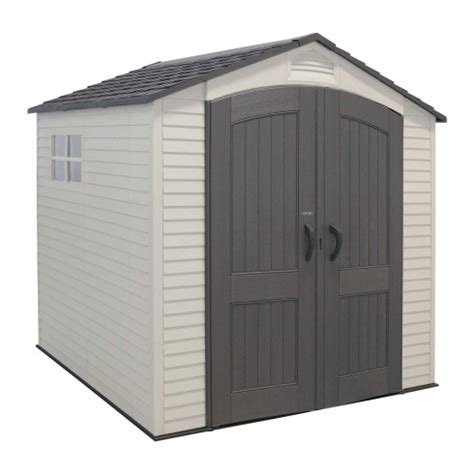 Lifetime Tool Shed by Prefabricated Vinyl Outdoor Storage Buildings Comparison Cosmos Vs Lifetime Products